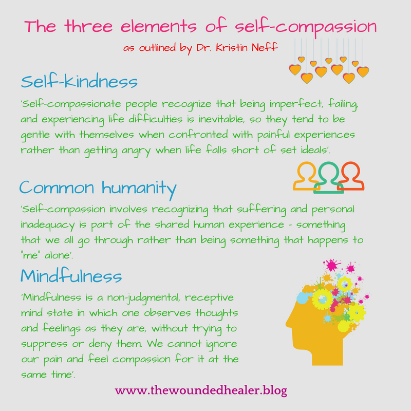 the three elements of self-compassion (1)
