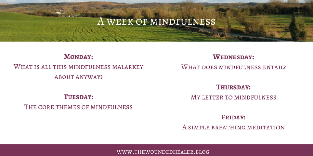 A week of mindfulness - twitter